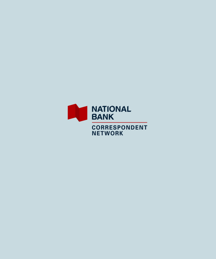 National Bank Correspondent Network Logo
